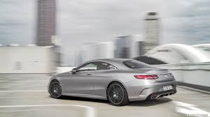 2018 mercedes benz s class coupe. contemporary coupe 2018 mercedesbenz sclass coupe color designo allanite grey magno   rear threequarter wallpaper with mercedes benz s class coupe