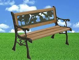 <b>Kids</b> Wooden <b>Garden Bench</b> 82cm: Amazon.co.uk: Garden & Outdoors