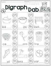 Free Phonics Worksheets Consonant Saxon 2nd Grade Second Review