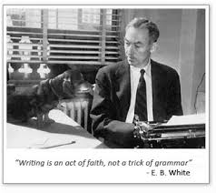 Image result for e b white and dog