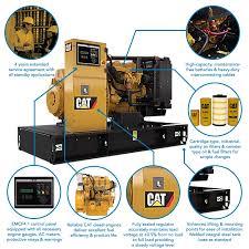 cat industrial three phase diesel generator 350kva cat industrial three phase diesel generator