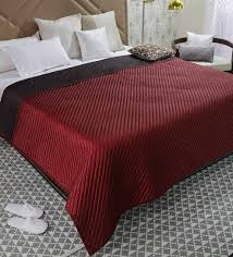king size mattress cover. Delighful Cover Red And Brown Poly Silk King Size Bed Cover By Zila Home Throughout Mattress
