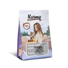 Купить <b>KARMY Maine</b> Coon Kitten <b>Сухой корм</b> для котят породы ...