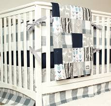 complete nursery bedding geenny boutique baby 13 piece crib set salmon pink gray