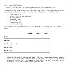 Simple Business Plan Template Simple Business Plan Template Free ...