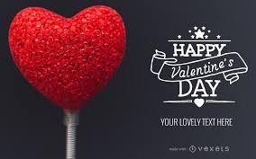 Valentines Day Card Design Maker Editable Design
