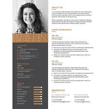 resume one page template 9 one page resume templates free premium templates