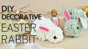 DIY <b>Decorative</b> Easter <b>Rabbit</b> - YouTube
