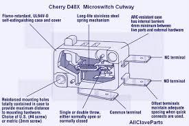 m micro switch cherry dx grey tus  tuttnauer cherry d48x micro switch cutaway view