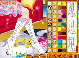 decorate your shoes a free girl game on girlsgogames com