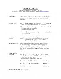 Resume Profile Examples Entry Level Sample Objectives For Resumes Resume Objective Of Your Examples 19