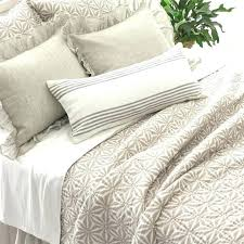 pine cone hill quilt neutral new rosary duvet linen cover