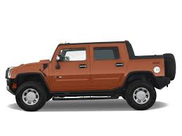 Image: 2008 HUMMER H2 4WD 4-door SUT Side Exterior View, size ...