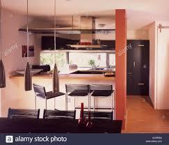 Es Integriert Innen Geschossen Küche Esstisch Wohnung Wohnen