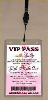Vip Birthday Invitations Templates Free Of Vip Party