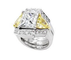 Yellow Diamond Vs White Diamond Yellow White Diamond Set Abercrombie Gems Precious