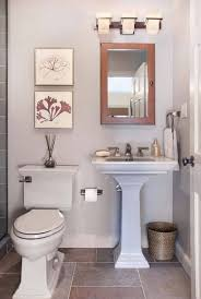 A small half bathroom is the one place where you can go all out when
