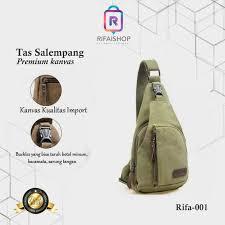 Jual Tas Selempang Pria Tas Waist Bag Tas slempang Rifa-001 - Hijau - Kab.  Bekasi - rifaishop.id_ | Tokopedia