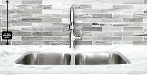 gray and white kitchen backsplash modern gray white some brown color mixed subway marble kitchen tile from gray marble kitchen backsplash