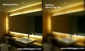 Bathroom mirror lighting Makeup Halo Tall Led Light Bathroom Mirror Implantek Stylish Small Bathroom Mirror Defoggermirror Demistersteam Free Mirrorfog Free Mirror