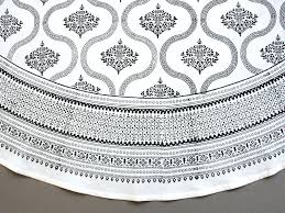 top black and white round table cloth glamour inside tablecloth remodel striped best modern