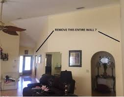 is this a loadbearing wall in vaulted