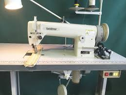 brother db2 b797 walking foot industrial sewing machine for leather upholstery 1 of 12