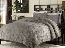 faux fur duvet cover sweetgalas