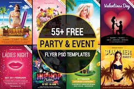 Event Flyers Free 55 Free Party Event Flyer Psd Templates Designyep