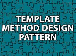 Template Pattern Impressive Template Method Design Pattern YouTube