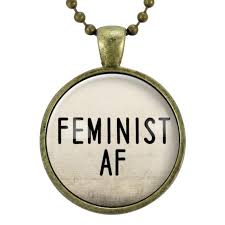 Quote Jewelry Best Feminist AF Necklace Feminism Quote Jewelry Woman Power Gender