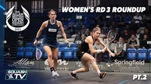 Squash: Allam British Open 2021 - Women ...