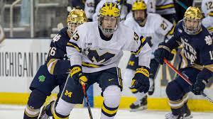Kent Johnson - Ice Hockey - University of Michigan Athletics