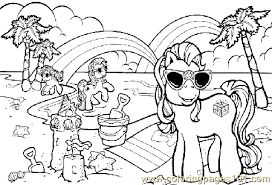 Small Picture Little Pony18 Coloring Page Free My Little Pony Coloring Pages