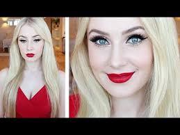 makeup tutorial for fair skin glamorous pin up look hair tutorial