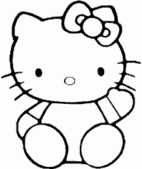 Small Picture Hello Kitty Coloring Pages Free Download in Cartoon Hello Kitty