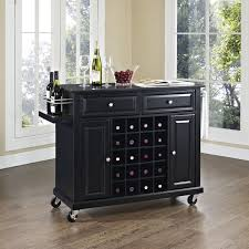 Granite Top Kitchen Island Cart Kitchen Island Cart With Wine Rack Best Kitchen Island 2017