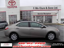 Used 2014 Toyota Corolla in Grand Falls - Used inventory - McClure ...