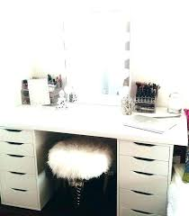 small makeup desk ideas organization vanity table with mirror bedroom dra