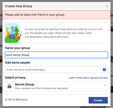 How To Creat How To Create A Facebook Group