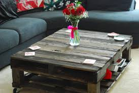 Pallet Coffee Table With Wheels Awesome Ideas  Pallets DesignsPallet Coffee Table On Wheels