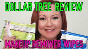 dollar tree review makeup remover wipes