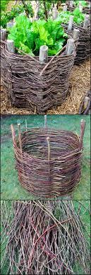 Diy Garden Projects Best 25 Garden Basket Ideas On Pinterest Garden Planters