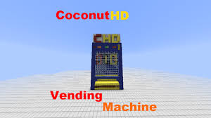 Vending Machine Forum Awesome CocoHD] Minecraft Redstone Vending Machine Redstone Creations