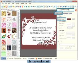 Invitations Card Maker Wedding Card Maker Software Make Invitation Cards To Invite People