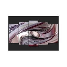 5 piece canvas prints. Modren Prints 5 Piece Canvas Print Wall Art  Abstract Violet  Throughout Prints R