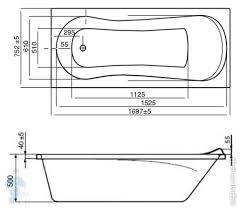 <b>Ванна акриловая Roca UNO</b> 170х75 прямоугольная ZRU9302870 ...