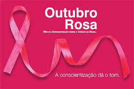 Resultado de imagem para mes de combate ao cancer de mama