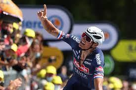 Tour de France 2021: Van der Poel impresses and takes the yellow jersey