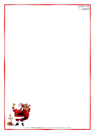 Letter From Santa Template Pdf Letter From Santa Template